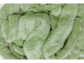deka mikrovlákno světle zelená