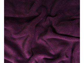 prostěradlo mikrovlákno tmavě fialové