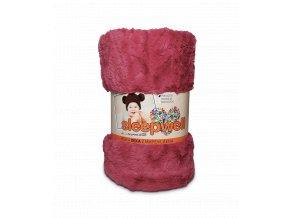 dětská deka sleepwell starorůžová