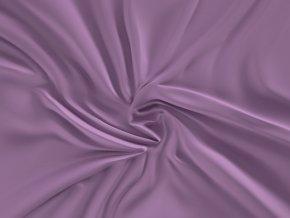 prostěradlo saténové fialové