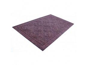 rohožka kobercová hnědý vzor