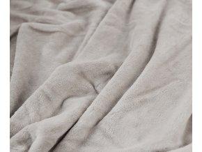 deka aneta světle šedá