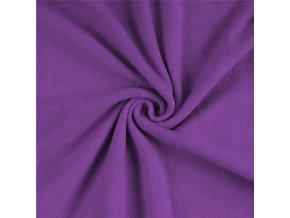 froté prostěradlo kvalitex tmavě fialové