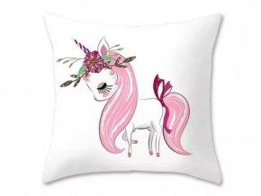 povlak na polštářek unicorn