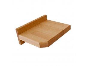 závěsný noční stolek buk masiv 4cm