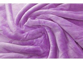 deka mikroflanel lila