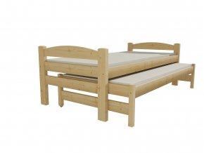 Dětská postel s výsuvnou přistýlkou DPV 010