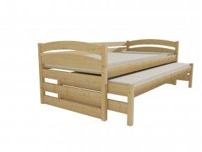 Dětská postel s výsuvnou přistýlkou DPV 012