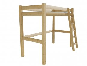 Patrová zvýšená postel 8X8 4A
