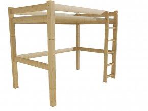 Patrová zvýšená postel 8X8 4C