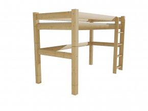 Patrová zvýšená postel 8X8 5B