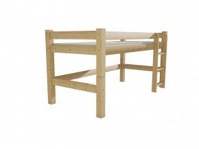 Patrová zvýšená postel 8X8 2B