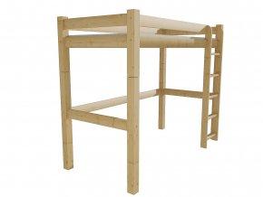 Patrová zvýšená postel 8X8 4D