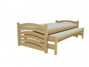 Dětská postel s výsuvnou přistýlkou DPV 015
