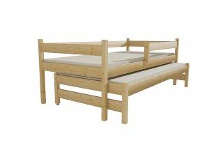 Dětská postel s výsuvnou přistýlkou DPV 017