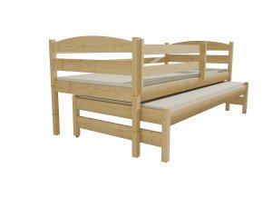 Dětská postel s výsuvnou přistýlkou DPV 023