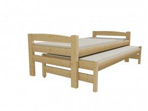 Dětská postel s výsuvnou přistýlkou DPV 024