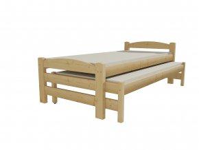Dětská postel s výsuvnou přistýlkou DPV 025