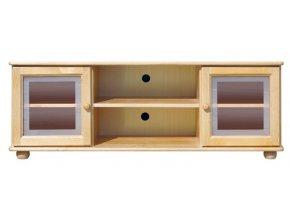 TV stolek 108 Borovice masiv Klasik
