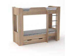 Patrová postel TWIX 2
