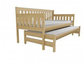Dětská postel s výsuvnou přistýlkou M 006 NEW*