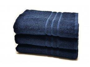 osuška bavlna tmavě modrá 500g