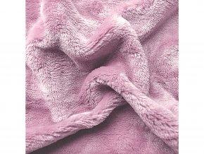prostěradlo mikroplyš sleepwell růžové dětské 120x60cm