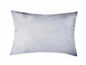povlak na polštář bavlna svěle šedý