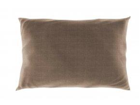 povlak na polštář bavlna béžový melír