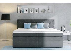 čalouněná postel atika boxspring