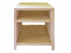 Noční stolek buk masiv 4cm - typ 1