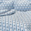 ložní povlečení retro modré stanex chalupářské