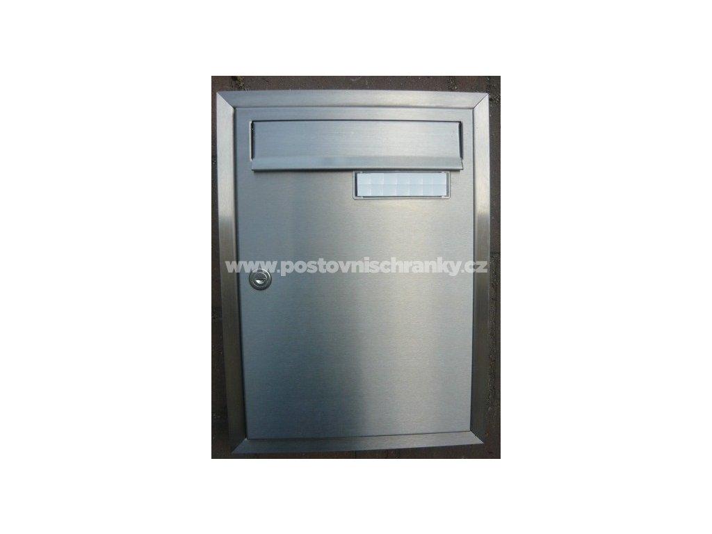 poštovní schránka C01 NEREZ  (pro zazdění )