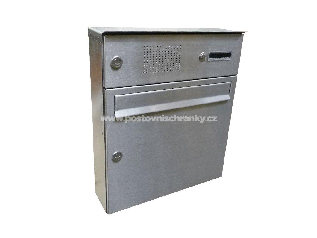 poštovní schránka A01 NEREZ ELEKTRO - (na povrch)