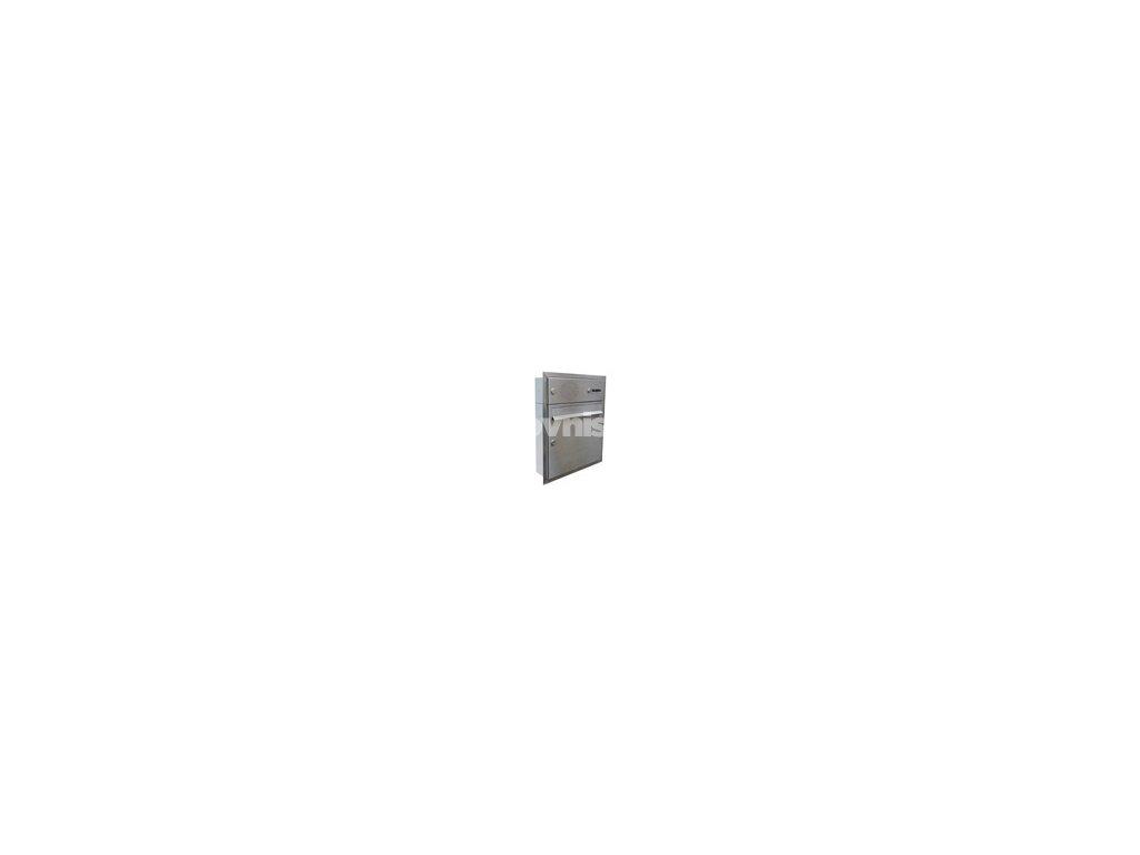 poštovní schránka A01 NEREZ ELEKTRO - (pro zazdění)