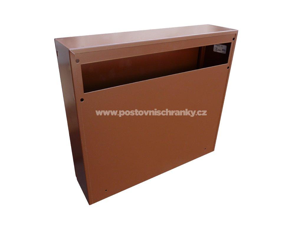 Poštovní schránka A050 RAL (pouze tělo)