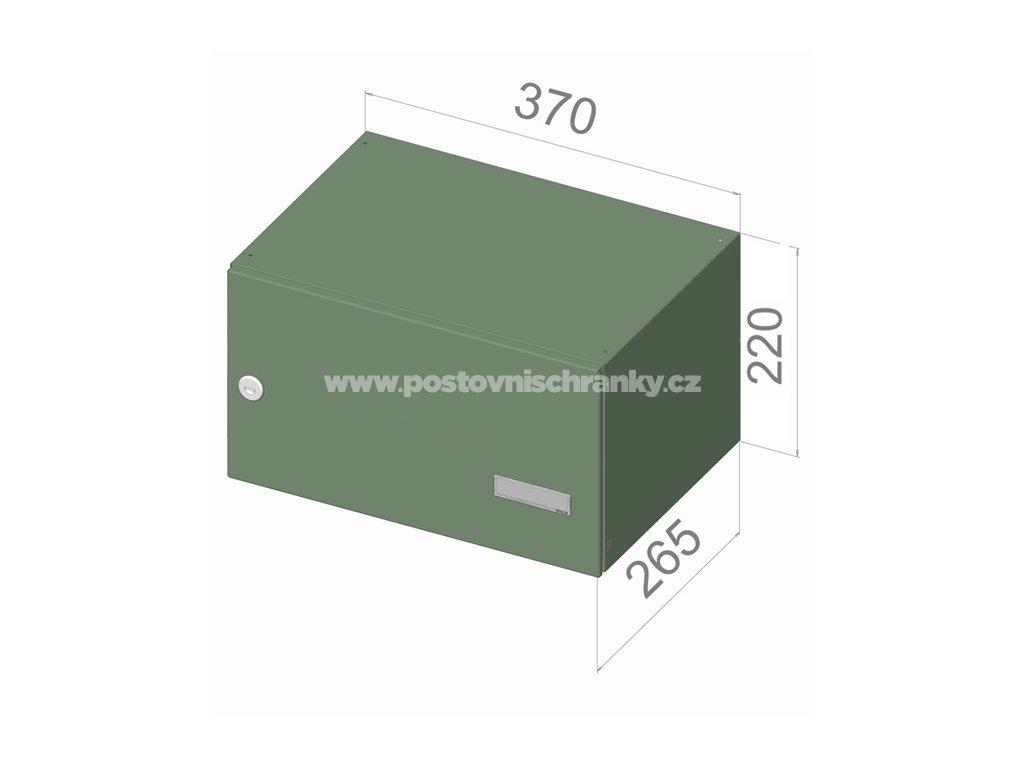 3112 postovni schranka b 247 pro zazdeni standardni ral