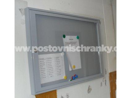 KOVOVÁ VITRÍNA ( protipožární - pro činžovní a panelové domy)