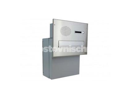 poštovní schránka F04 NEREZ ELEKTRO - (šíře 300mm) do KB a FACE bloku - hloubka fixní 200 mm