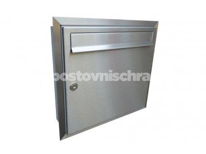 poštovní schránka A01 NEREZ (pro zazdění)