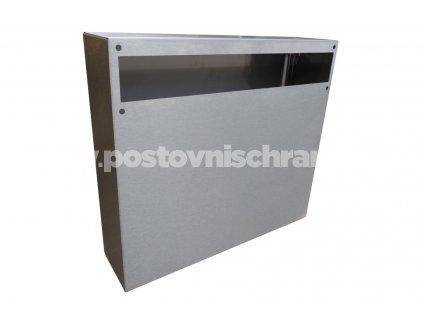Poštovní schránka A050 NEREZ (pouze tělo)