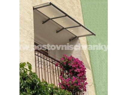 Daszek balkonowy.