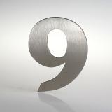 ČÍSLO NEREZ VELIKOST 120 MM (FRANCE STYL) CÍSLO: číslo 9