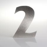 ČÍSLO NEREZ VELIKOST 120 MM (FRANCE STYL) CÍSLO: číslo 2