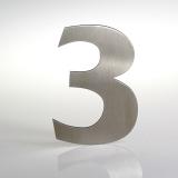 ČÍSLO NEREZ VELIKOST 120 MM (FRANCE STYL) CÍSLO: číslo 3