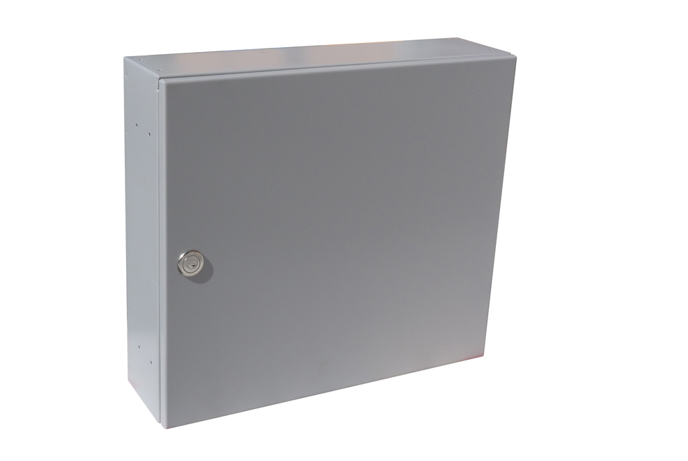 poštovní schránka A050 RAL - KOMPLET (sestava : schránka + čelo) RAL odstín(barva): RAL 7035( sv.šedá)