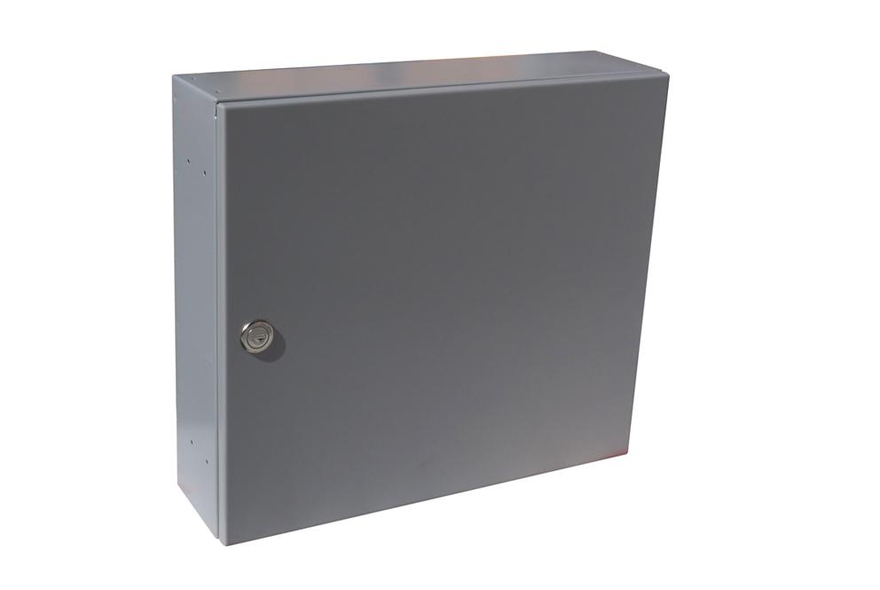 poštovní schránka A050 RAL - KOMPLET (sestava : schránka + čelo) RAL odstín(barva): RAL 7040 (tm. šedá)
