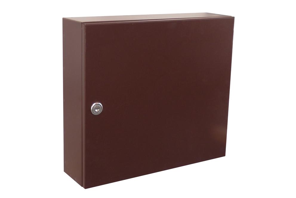poštovní schránka A050 RAL - KOMPLET (sestava : schránka + čelo) RAL odstín(barva): RAL 8017 (tm. hnědá)