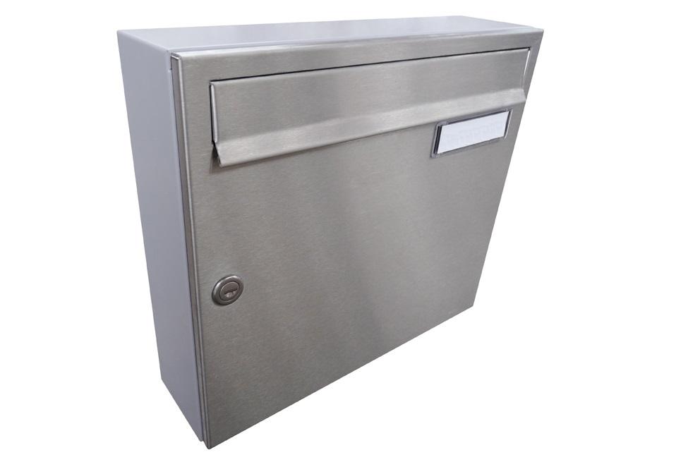 A01 NEREZ (tělo RAL 7040) - 370 x 330 x 100 (nástěnný model) zpracování schránky: samostatně zabalená (připravena pro složení)