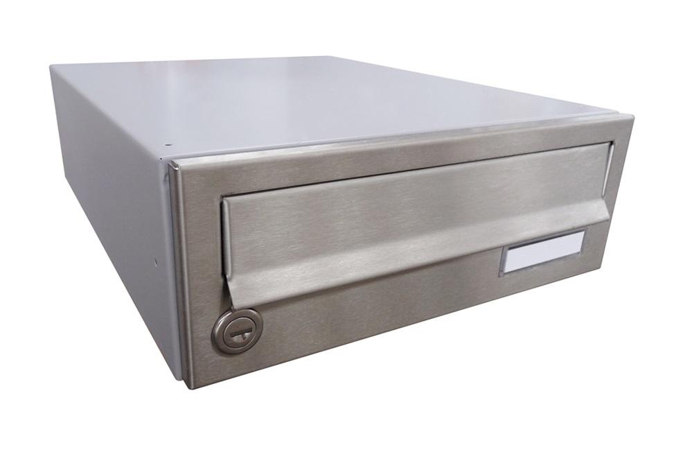 B01 NEREZ (tělo RAL 7040) - 300 x 110 x 385 (ležatý model) zpracování schránky: samostatně zabalená (připravena pro složení)